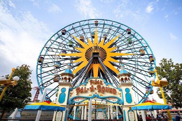 Pixar Pal-A-Round ferris wheel