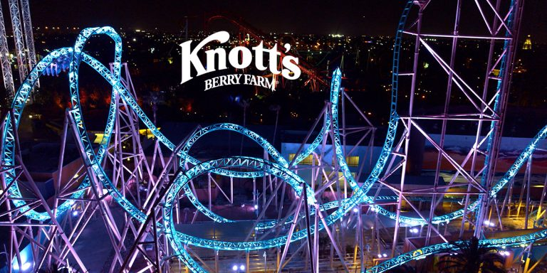 Knott's Berry Farm Hangtime Coaster